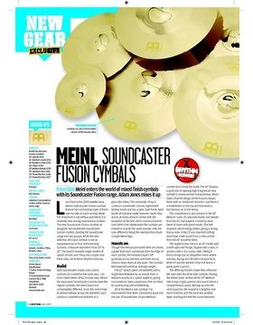 Meinl Soundcaster FUSIONCYMBALS