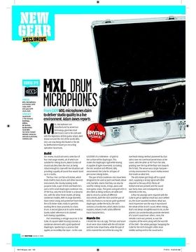 MXL DRUM MICROPHONES