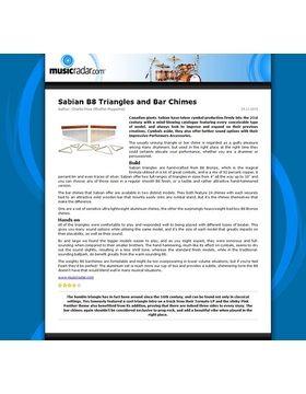 Sabian B8 Triangles and Bar Chimes