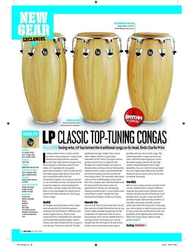 LP CLASSIC TOP-TUNING CONGAS