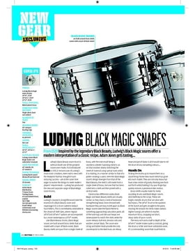 LUDWIG BLACK MAGIC SNARES