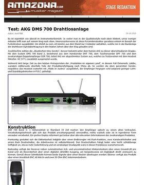 Test: AKG DMS 700