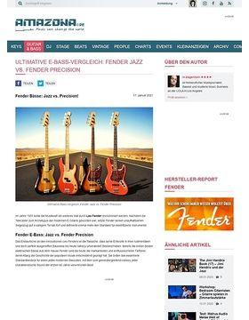 Workshop: Guitar know-how: Fender Bässe - Jazz vs. Precision