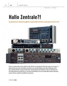 Vergleichstest: Bühnentaugliche Audio/MIDI-Interface-Lösungen für Mac & PC
