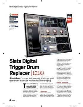 Slate Digital Trigger Drum Replacer