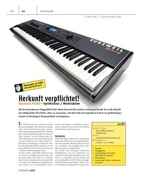 Kurzweil PC3K8 - Synthesizer / Workstation
