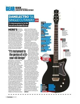 Danelectro 56 Single Cutaway