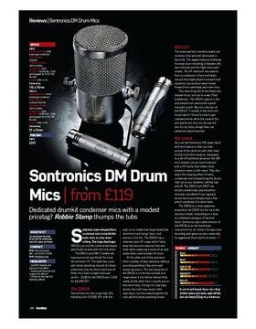 Sontronics DM Drum Mics