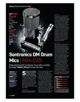 Sontronics DM Drum Mics