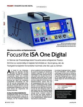 Focusrite ISA One Digital