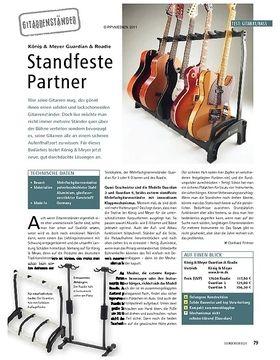 Test: König & Meyer Guardian & Roadie - Standfeste Partner