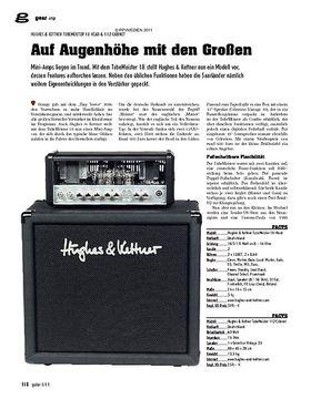Amp - Hughes & Kettner Tubemeister 18 Head & 112 Cabinet