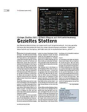 iZotope Stutter Edit – Effekt-Plug-in mit Echtzeitsteuerung