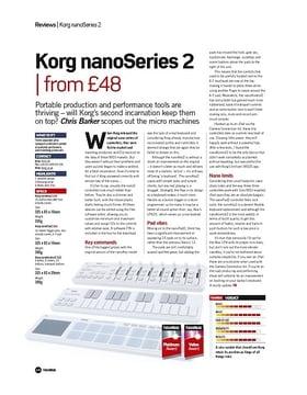 Korg nanoSeries 2