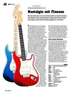 gear E-Gitarre - Squier Classic Vibe Stratocaster 50s & 60s