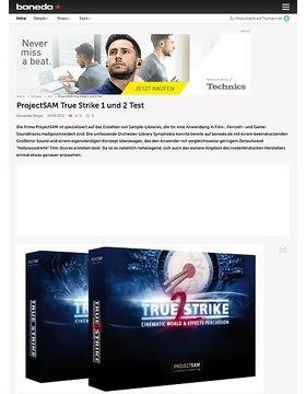 ProjectSAM True Strike 1 und 2