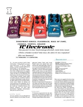 TC Electronic TonePrint-Serie