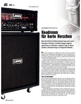 gear Amp - Laney Ironheart IRT120H & IRT 412