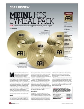 MEINL HCS CYMBAL PACK