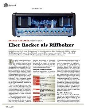 gear Amp - Hughes & Kettner Tubemeister 36