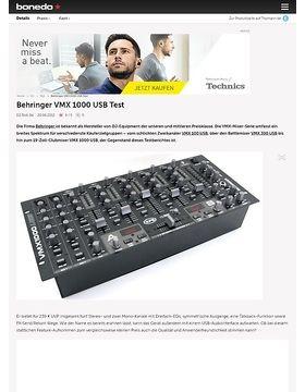 Behringer VMX 1000 USB