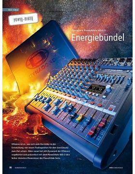 Test Power-Mixer: Dynacord PowerMate 600-3