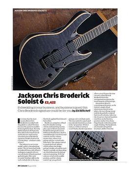 Jackson Chris Broderick Soloist 6