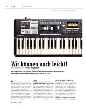 Hammond SK1 – Stage Keyboard