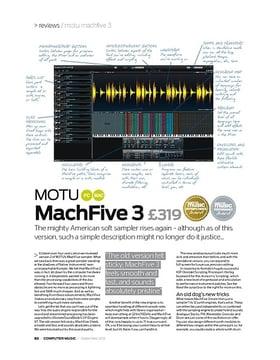 MOTU machFive 3