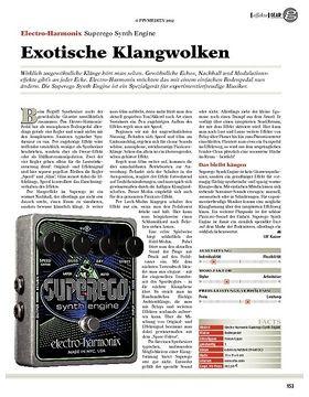 gear Effekte - Electro-Harmonix Superego Synth Engine