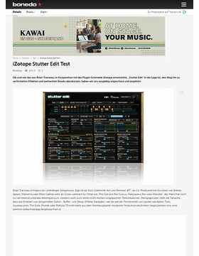 iZotope Stutter Edit Test