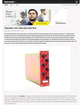 Chandler Ltd. Little Devil EQ Test