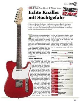 gear E-Gitarre - G&L Tribute Asat Classic & Tribute Legacy