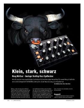 Moog Minitaur – Analoger Desktop-Bass-Synthesizer