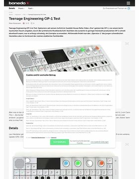Teenage Engineering OP-1 Test
