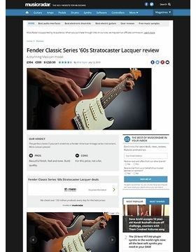 Fender Classic Series '60s Stratocaster Lacquer