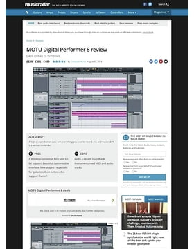 MOTU Digital Performer 8