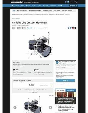 Yamaha Live Custom Kit