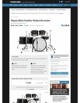 Mapex Black Panther Widow Kit