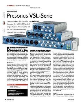 Presonus VSL-Serie