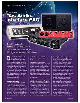 Special Audio-Interfaces
