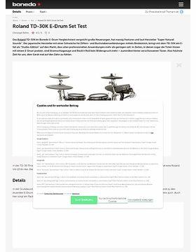 Roland TD-30K E-Drum Set Test
