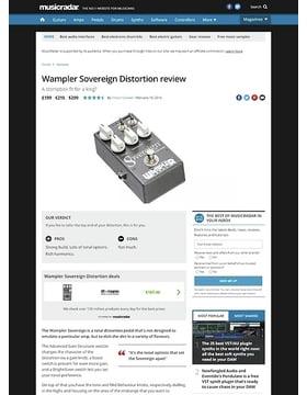 Wampler Sovereign Distortion