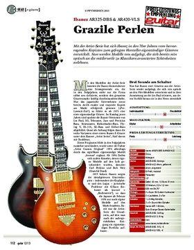 gear e-gitarre: Ibanez AR325-DBS & AR420-VLS