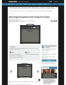 Mesa Engineering Recto-Verb Twenty-Five