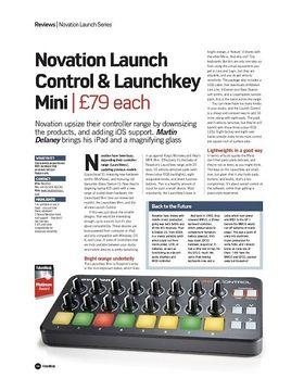 Novation Launch Control & Launchkey Mini