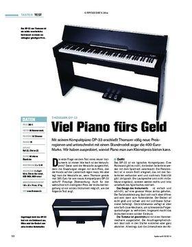 Viel Piano fürs Geld
