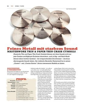 Masterwork Thin & Paper Thin Crash Cymbals