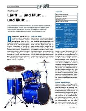 Pearl Export Drumset