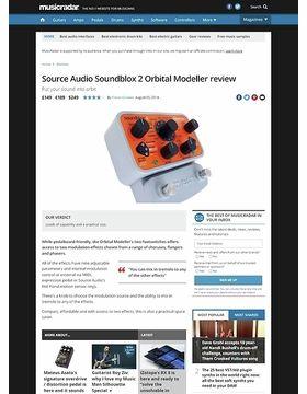 Source Audio Soundblox 2 Orbital Modeller